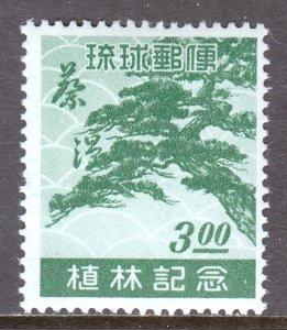Ryukyu Islands - Scott #15 - MNH - SCV $50
