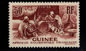 FRENCH GUINEA Scott 140 MH* stamp