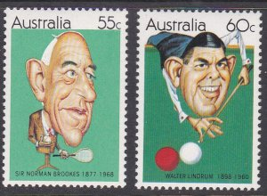 Australia Sc #774-775 MNH, Mi #743-744