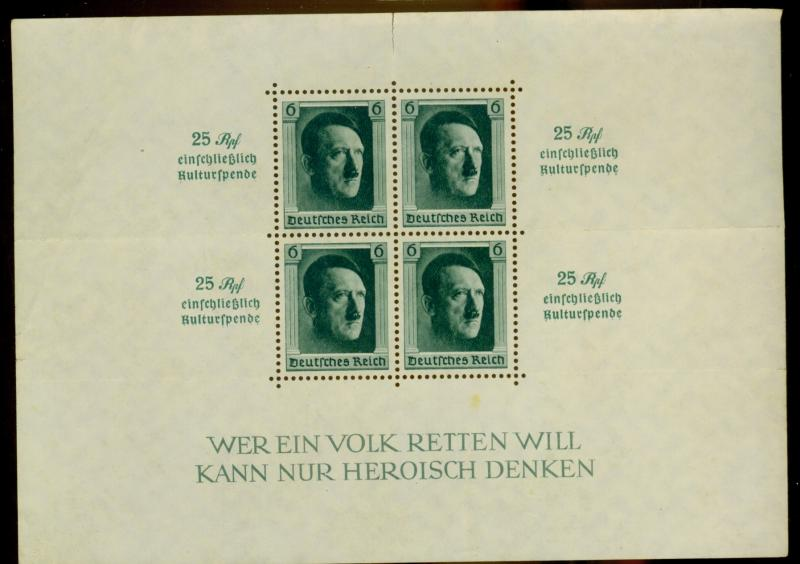 Germany #B104 MINT FVF No GUm Territory Cat$37