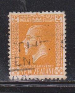 NEW ZEALAND Scott # 163 Used - KGV Definitive