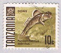 Tanzania 20 Used Mudskipper fish 1967 (BP31421)