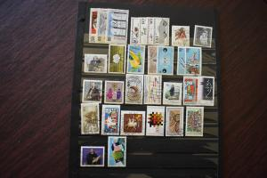 GERMANY COLLECTION 1984 YEAR SET  USED  CAT VALUE OVER 26.00