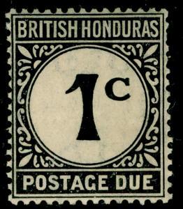 BRITISH HONDURAS SGD1, 1c black, M MINT.