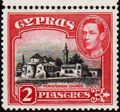 Cyprus.1938 2pi S.G.155b Unmounted Mint