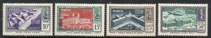 French Morocco: 1951 Soldiers Fund set (4) SG 394-7 mint