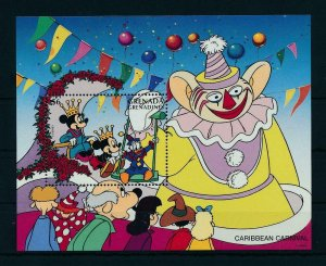 [22492] Grenada Grenadines 1996 Disney Characters at Caribbean Carnival MNH