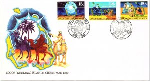 Cocos Islands, Worldwide First Day Cover