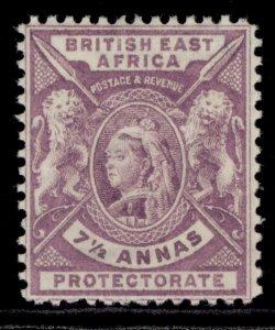 BRITISH EAST AFRICA QV SG73, 7½a mauve, LH MINT. Cat £14.