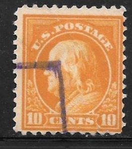 USA 510: 10c Franklin, used, F