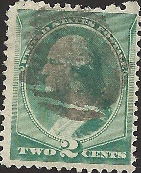 # 213 GREEN USED GEORGE WASHINGTON