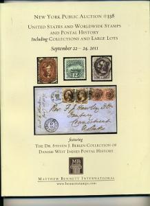 Bennett Auction Sale US, Collections & Danish West Indies PH