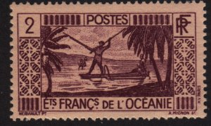 French Polynesia 81 Spear Fishing 1934