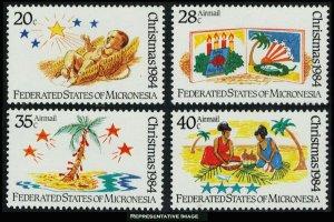 Micronesia Scott 22, C7-C9 Mint never hinged.