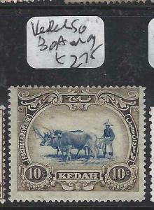 MALAYA  KEDAH    (P0906B)  COW  1C  SG 30A  MOG