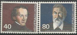 SWITZERLAND 685-686, MNH, EUROPA