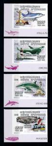 [75708] Ivory Coast 2005 Marine Life Whales Lighthouses Imperf. MNH