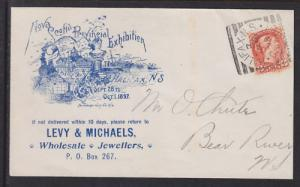 Canada Sc 37 on 1897 Provincial Exhibition Cover