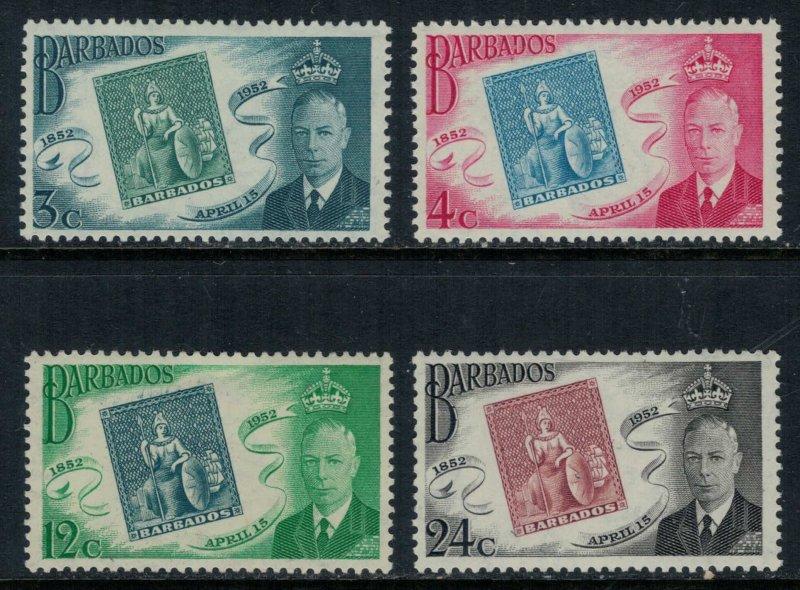 Barbados #230-3*  CV $2.40