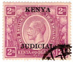 (I.B) KUT Revenue : Kenya Judicial 2/- (1922)