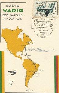 BRASIL CORREIO  1955  AERONAUTICA