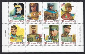 Marshall Islands Scott 812 Mint Never Hinged World War I Heroes