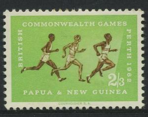 Papua New Guinea- Scott 173 -General Issue -1962 - MH - Single 2/3p - Stamp