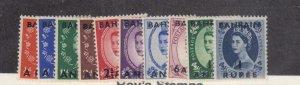 BAHRAIN # 81-90+96-98 VF-MNH QE11 WILDINGS TO !0sh CAT VALUE $29+