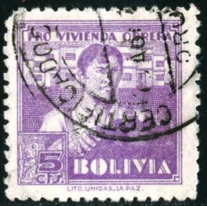 BOLIVIA #RA1, USED - 1939 - BOLIVIA10