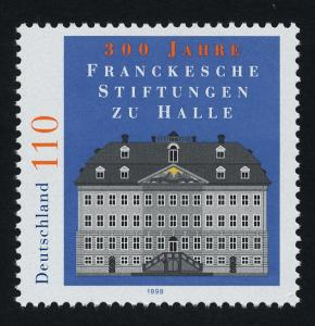 Germany 2018 MNH Architecture, Francke Charitable Institutions