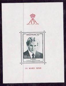 Monaco-Sc #1166-Unused NH sheet-Prince Albert-1979-