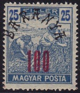 Hungary - 1919 - Scott #8N9 - MNH - Baranya overprint