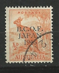 Australia # M1 - Kangaroo - Japan Occupation  VF Used   (1)