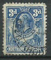 Northern Rhodesia  SG 5 Used