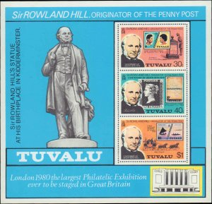 Tuvalu #122-124a, Complete Set(4), 1979, Never Hinged