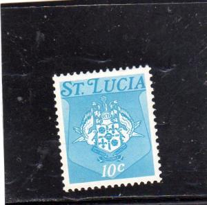 St Lucia Defin MNH