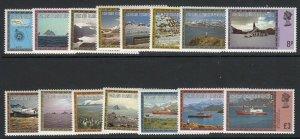 Falkland Islands Dep., Sc 1L38-1L52, MNH