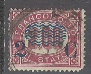 COLLECTION LOT # 2388 ITALY #42 1878 CV=$10