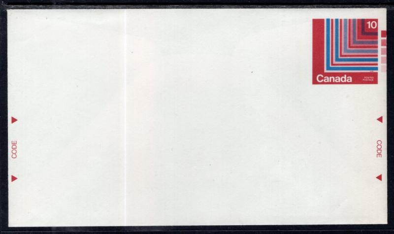 Canada Unitrade U105b Postal Envelope Unused VF