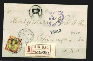 TRINIDAD REGISTERED USA Chicago Montgomery Ward Front Only{samwells-covers}CW157