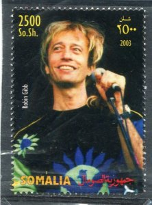 Somalia 2003 ROBIN GIBB THE BEE GEES  1 value Perforated Mint (NH)