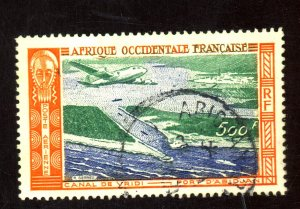 French West Africa #C16 Used VF Cat$4.75