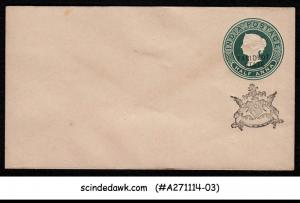 FARIDKOT STATE - 1/2a QV GREEN ENVELOPE - OVPT - MINT INDIAN STATE