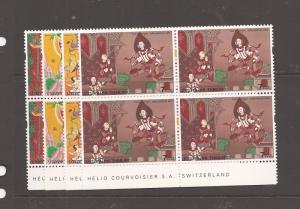 Thailand SC 1747-50 imprint blocks of 4 MNH (13cat)