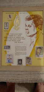 Stamp Tribute to John F. Kennedy