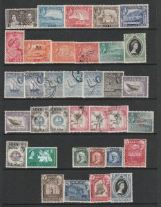 Aden a small lot mainly QE2 era