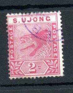 Malaya Sungei Ujong 1891 2c rose fine used SG#50 WS14264