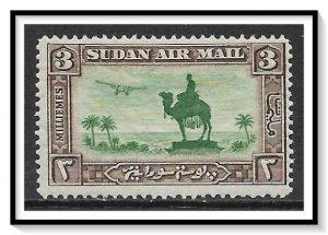 Sudan #C4 Airmail MH