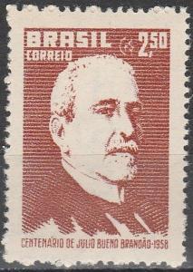 Brazil #874 MNH F-VF   (V557)