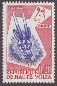 Burkina Faso 71 Deer Mask 1960